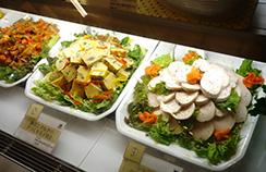 デリ惣菜コーナー