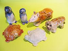 本格陶芸 動物の置き物づくり
