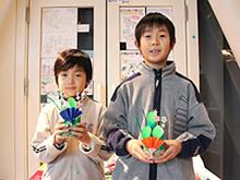 本日より、「リサイクル素材でお正月の門松づくり」開催中!