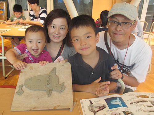 「おさかな陶板アート」開催!