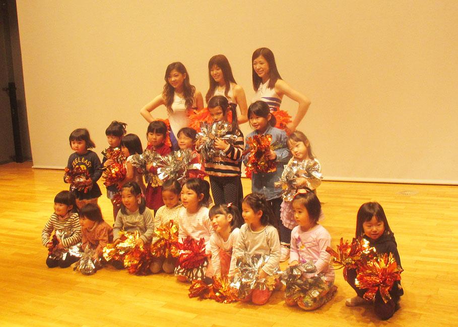 あるチア訪問隊★親子チアダンス教室を開催しました