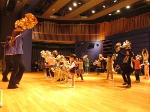 あるチア訪問隊★親子チアダンス教室を開催しました!