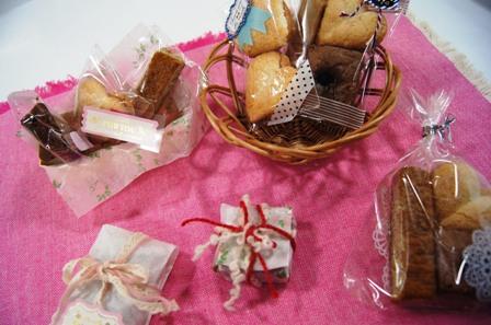 お楽しみ企画~大切な人へ贈る焼き菓子3種~