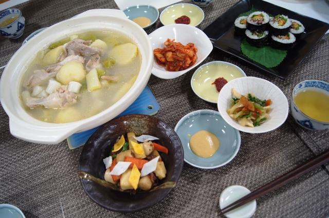 おいしい韓流ごはん「キンパと鍋であったか韓流ごはん」