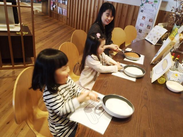 食育ランド「お料理体験ゲーム ~パンケーキ作りに挑戦~」