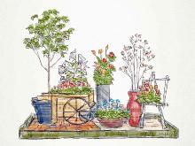4/22(金)・23(土)・25(月)『G7各国の国花の展示』 食育・花育センター