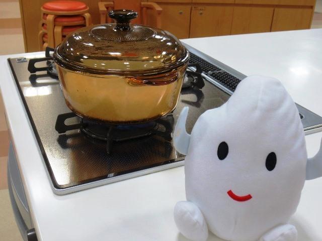 食育ランド「ガラス鍋でごはんを炊こう!」