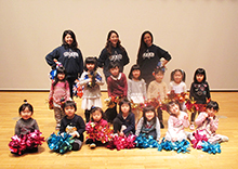 2月25日 親子チアダンス教室を開催しました