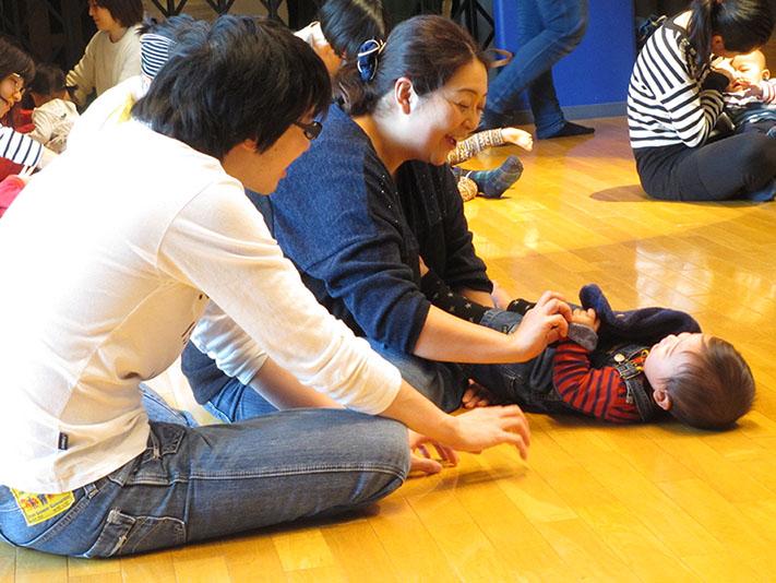 3月親子リトミック開催しました