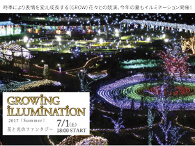 「GROWING ILLUMINATION 2017 ~SUMMER~」
