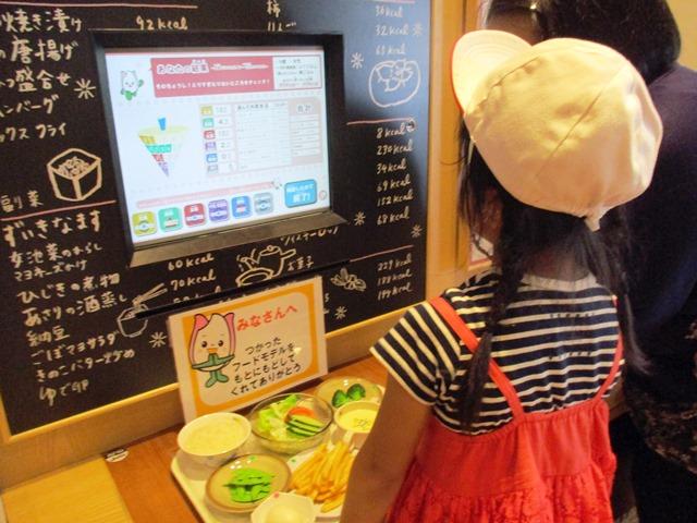 団体プログラム 「食品サンプルを使って食事バランスをチェックしよう!」
