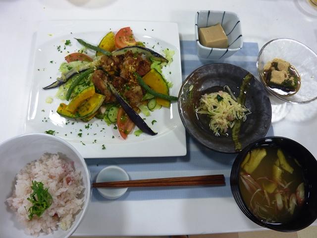 料理教室  「片桐先生の夏を楽しむ家庭料理」