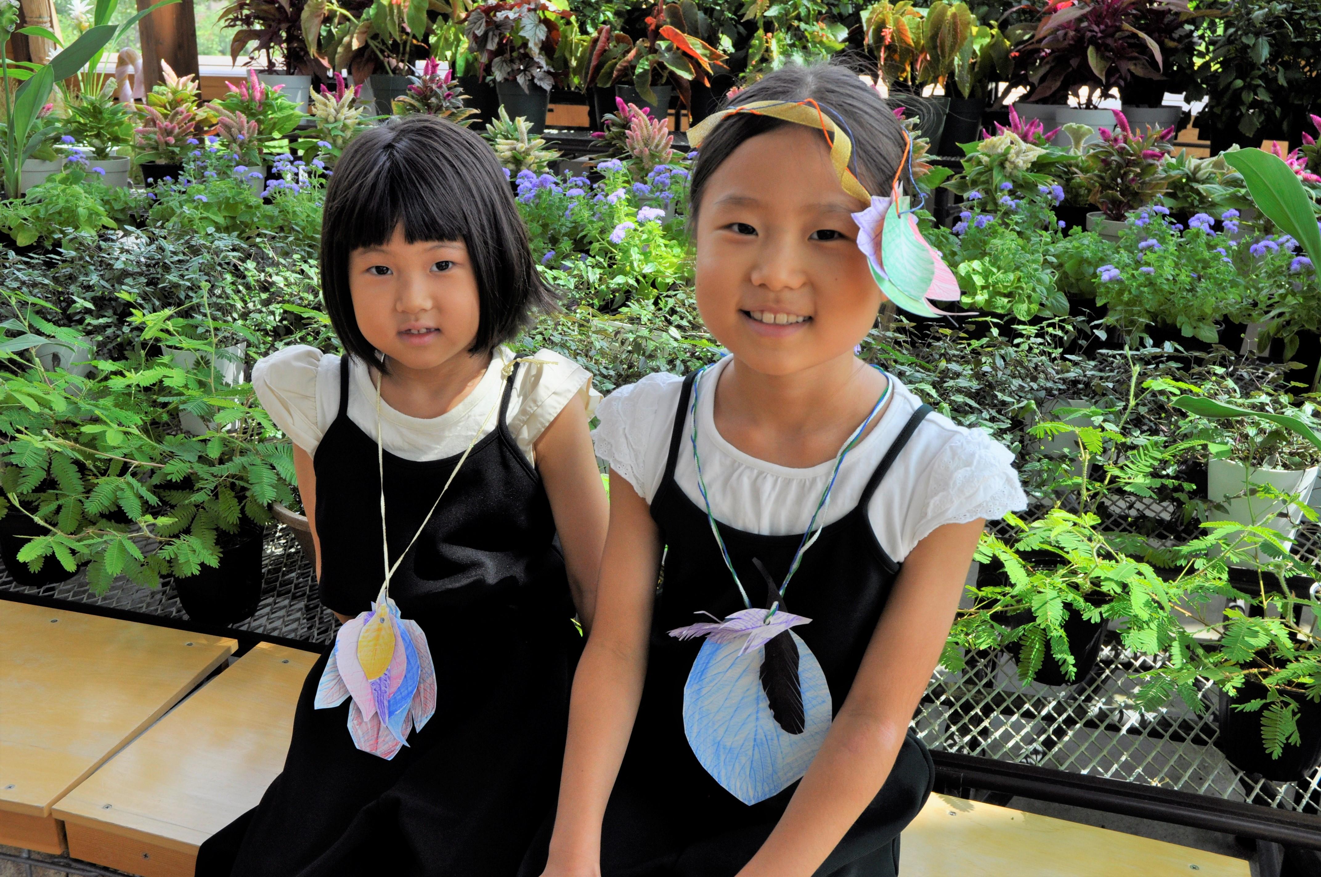 10月7日(日)花育ランド【葉っぱで遊ぼう】収穫祭