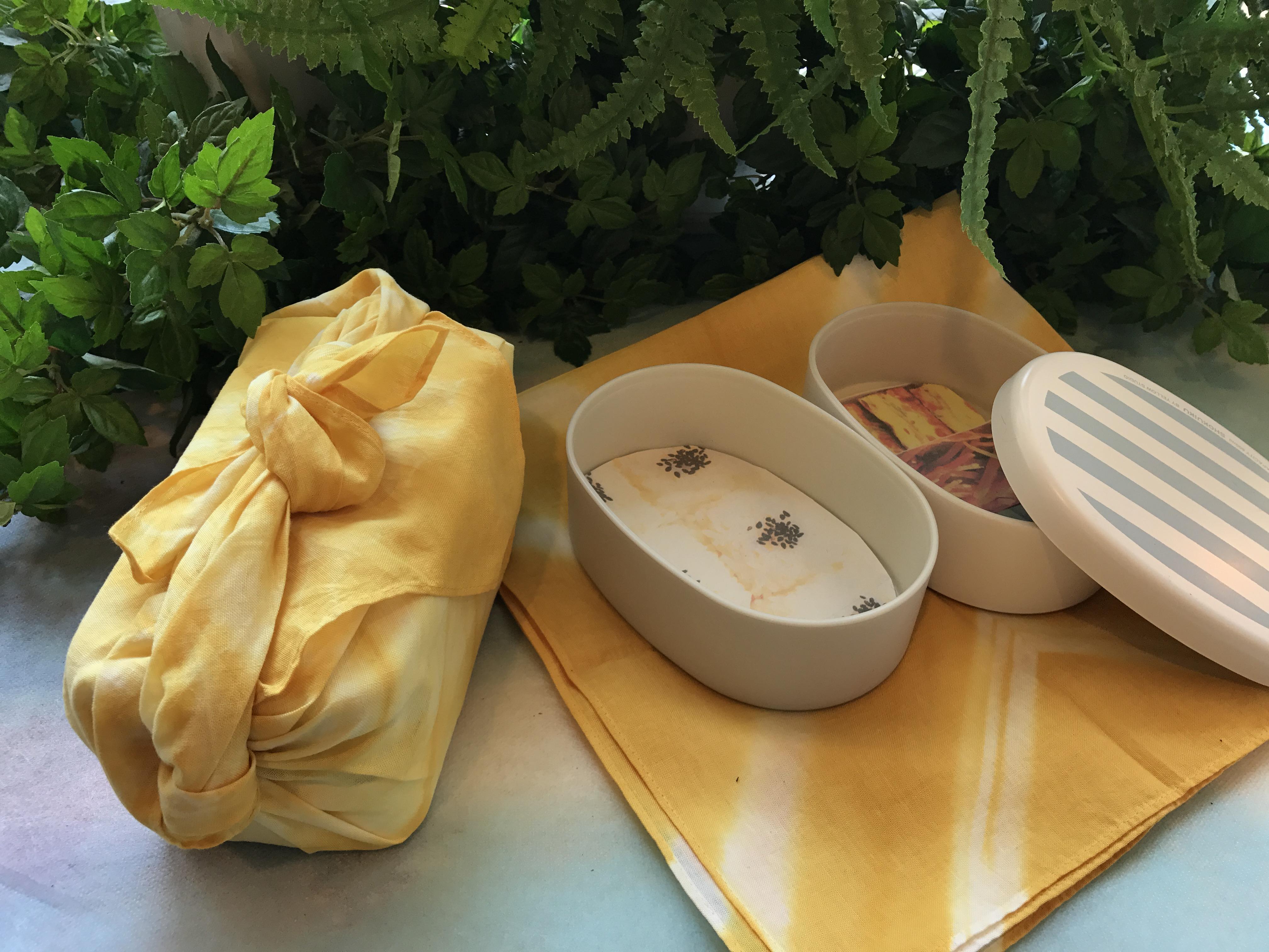10月8日(日)花育体験【ハンカチで草木染め体験】収穫祭