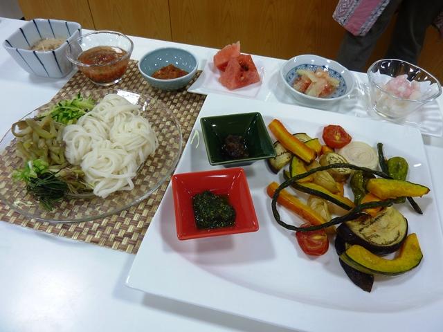 料理教室 「有機・自然栽培農家の夏の食卓」を開催しました。