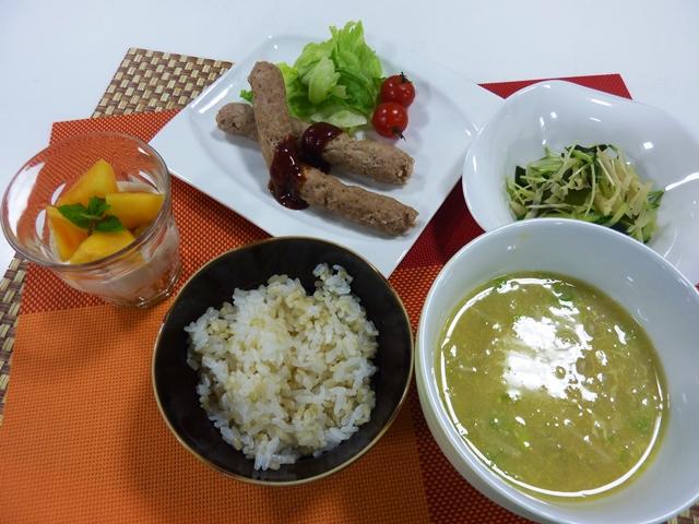 料理教室 「秋!もっと健康になるエクササイズとお手軽レシピ」を開催しました。