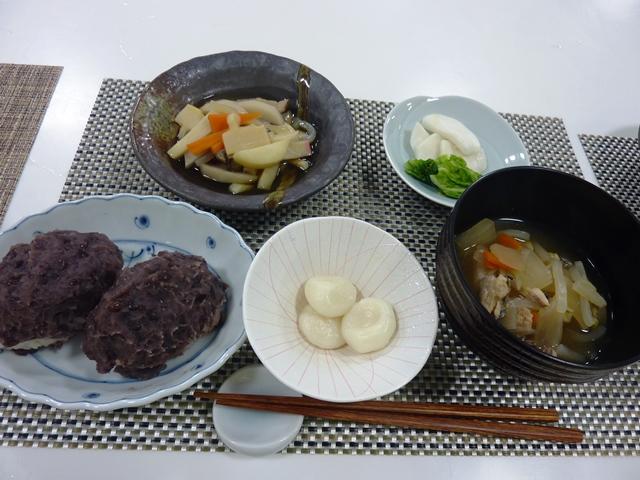 料理教室 「田の神様に供える郷土料理」を開催しました。