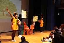 館長メモリーⅪ 今年も大人気!長岡こども医療・介護・専門学校の学生さんによる演劇発表!