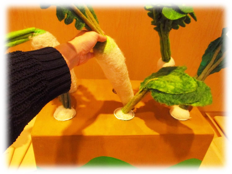 食育ランド「収穫ゲーム 新潟のおいしい食べものゲットだぜ!」