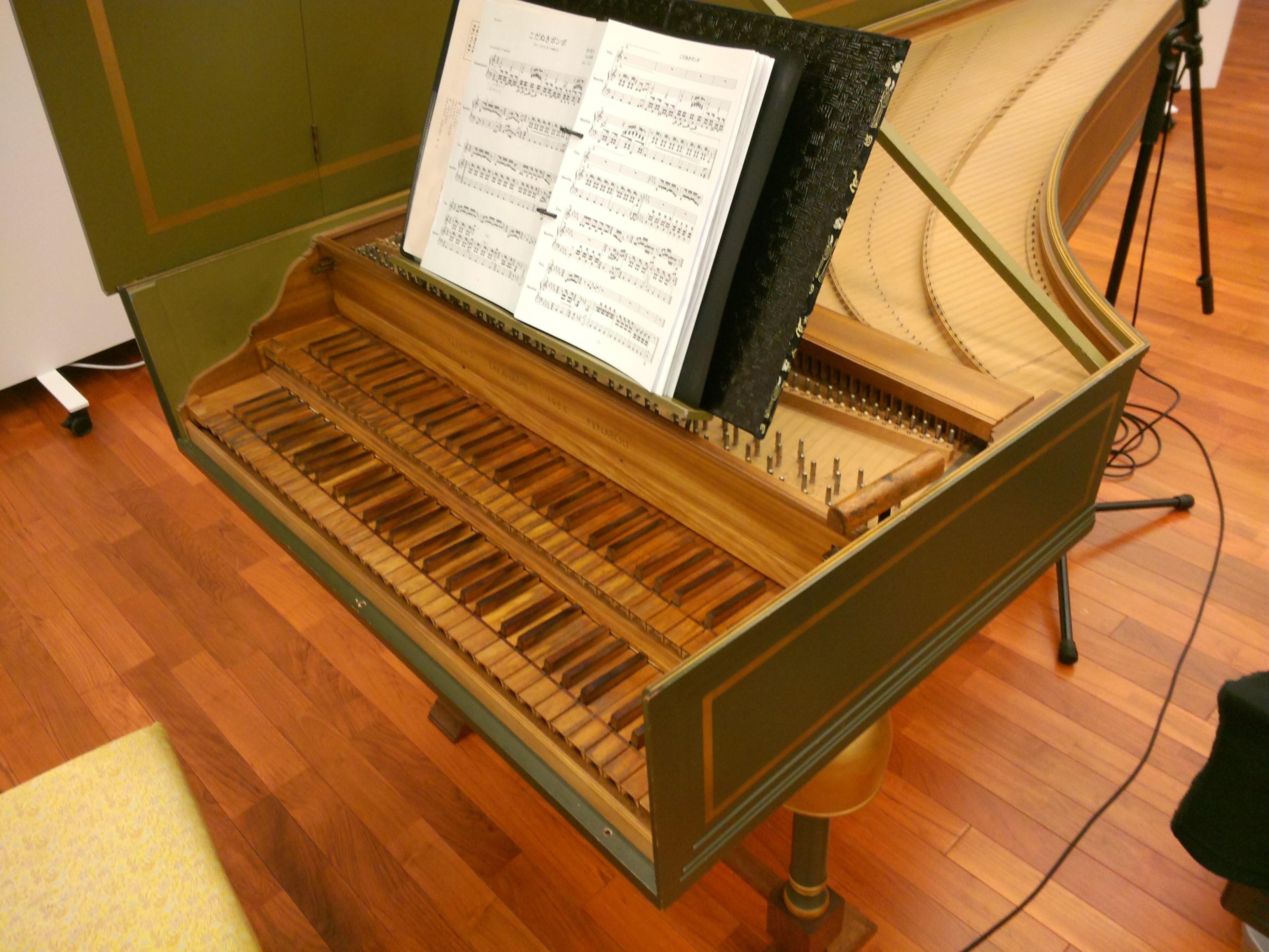要申込・チェンバロ、リコーダー、ヴァイオリンの体験型コンサート