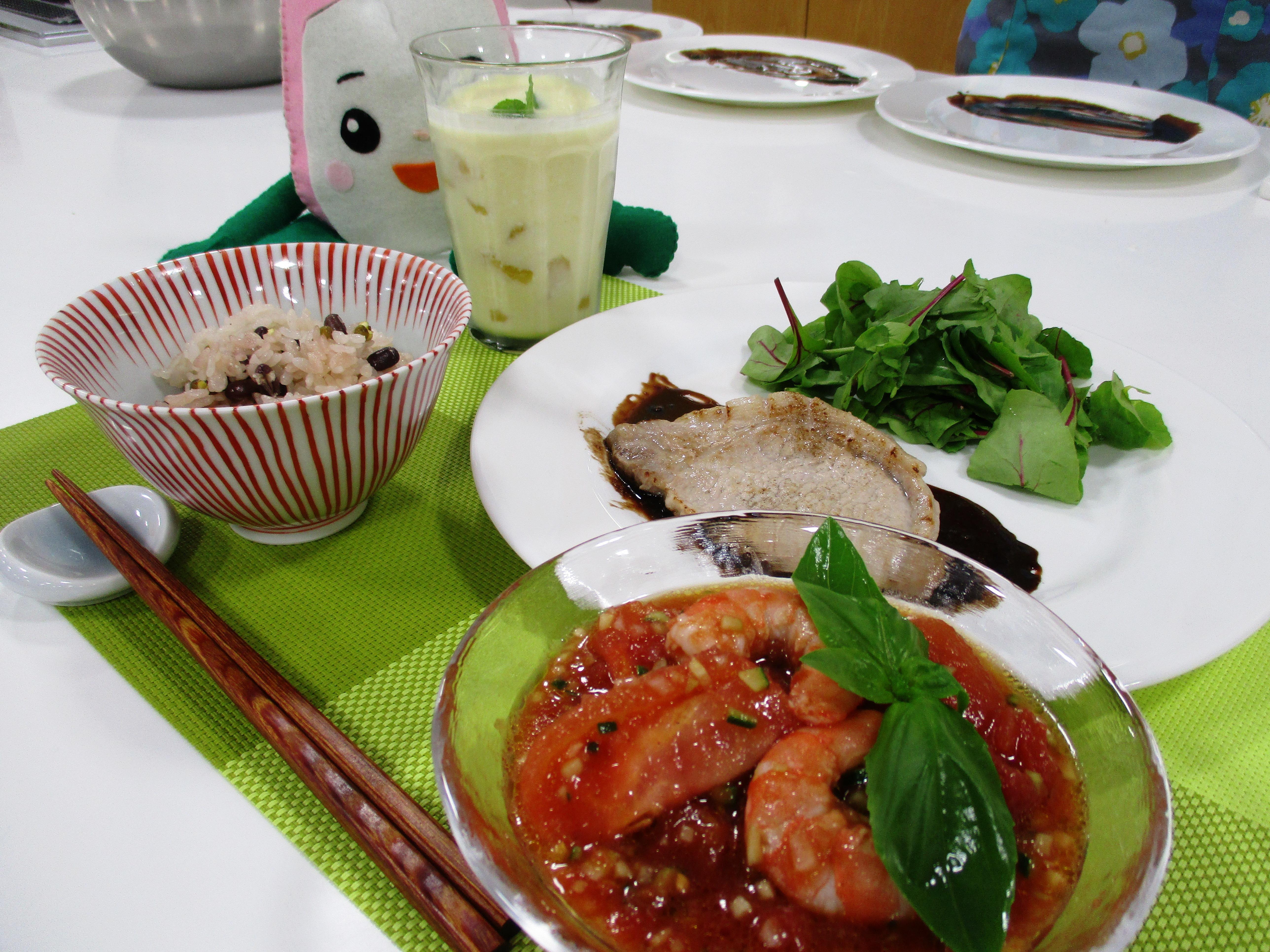 お料理教室「おうちでできる簡単 夏の薬膳」