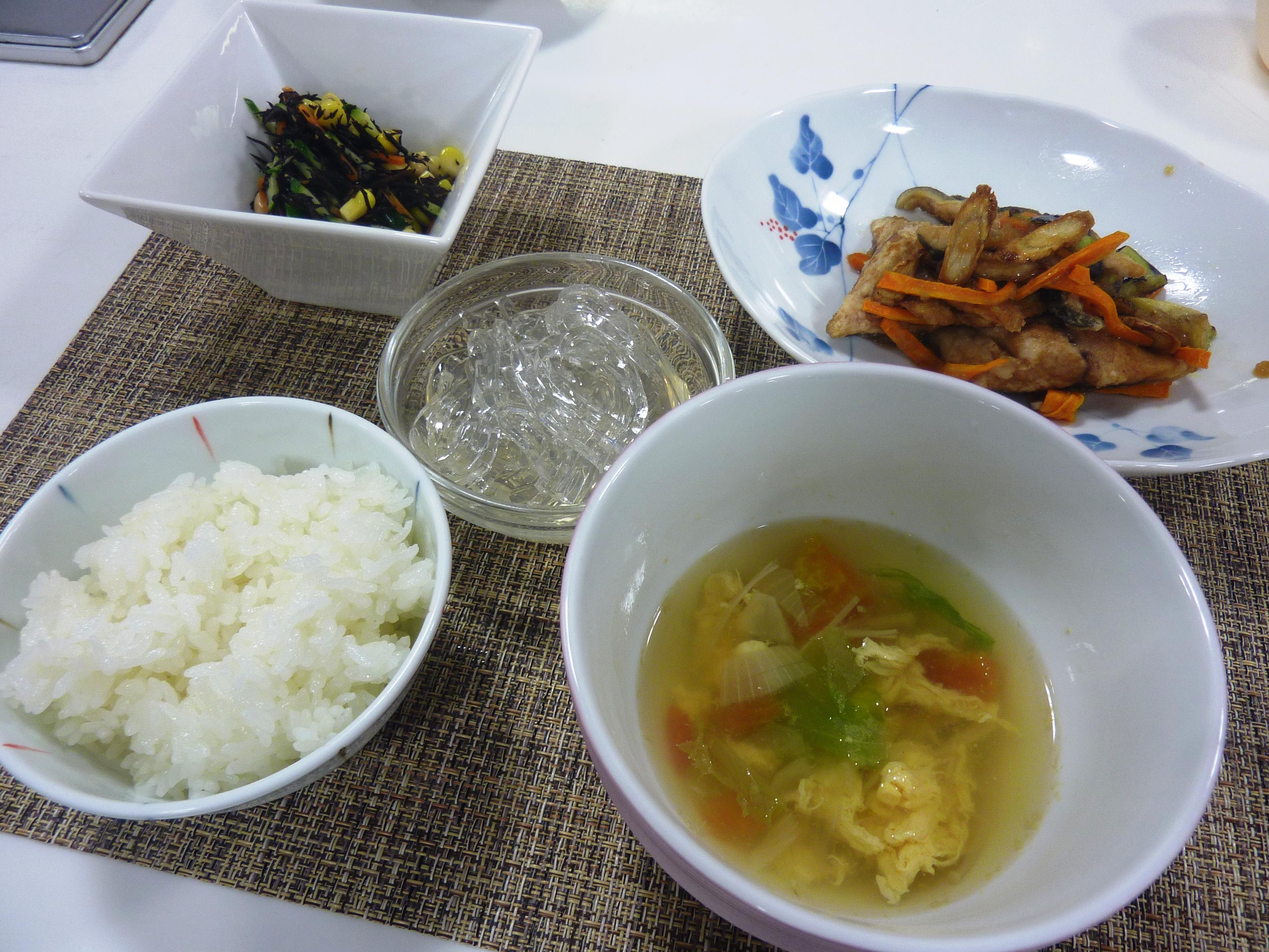 お料理教室「季節のお料理教室 ~さかなと夏野菜で元気回復~」