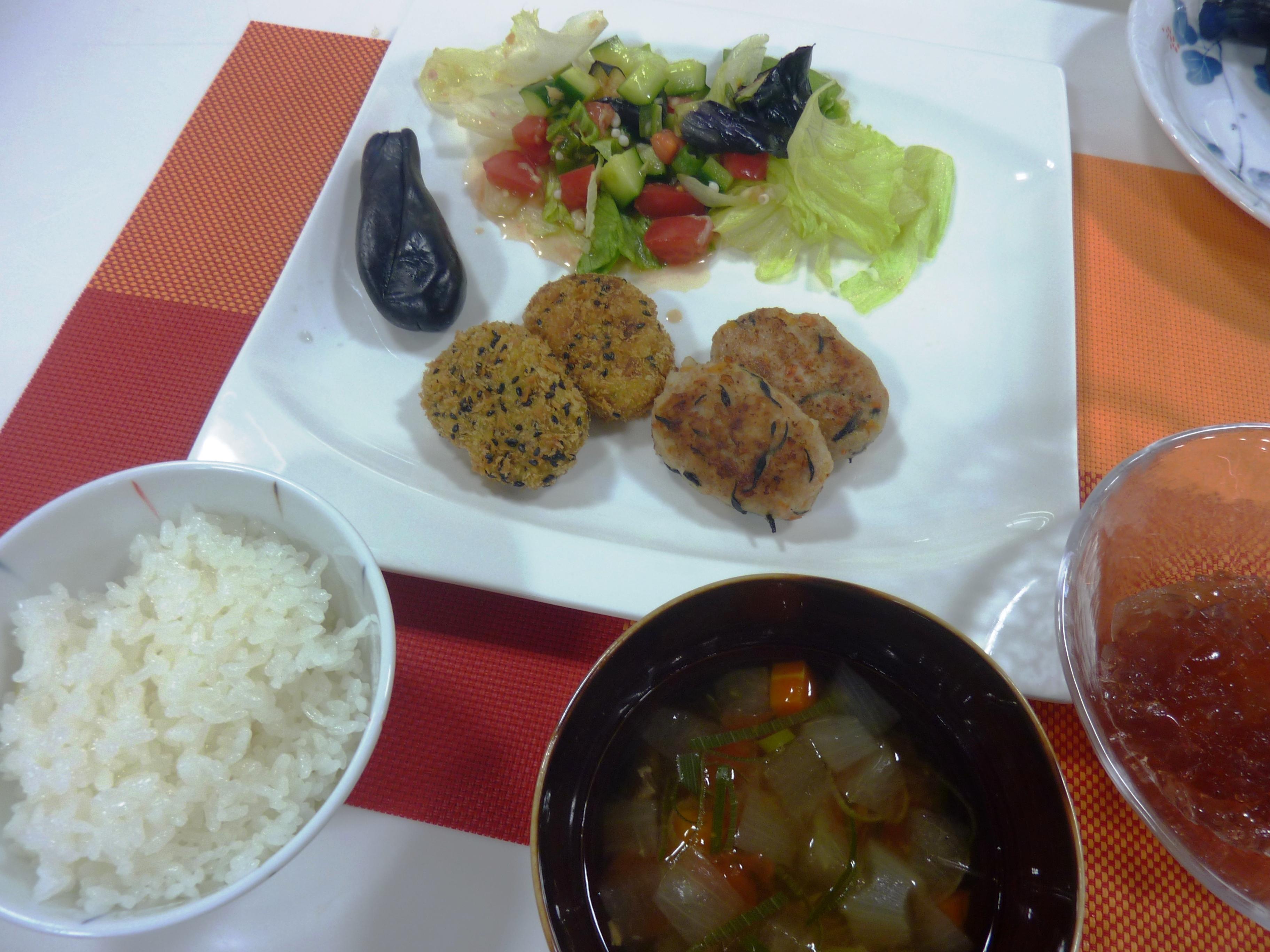 お料理教室「秋の彩りランチ」