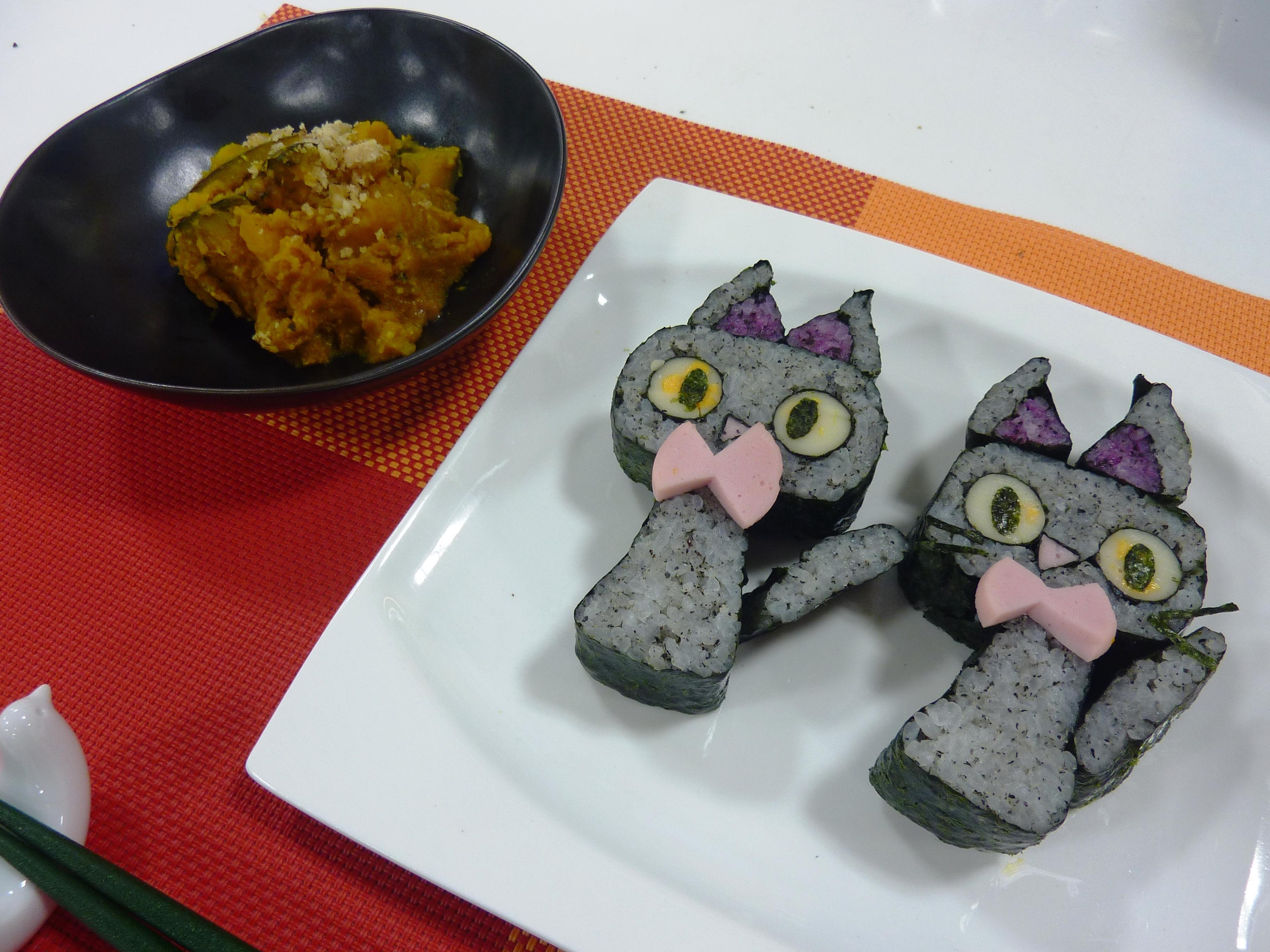 お料理教室「飾り巻寿司作り」