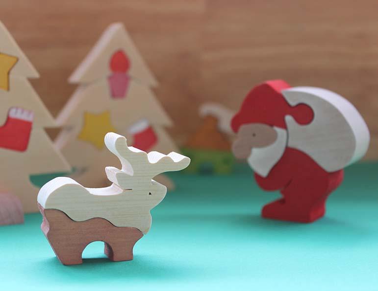 要予約 クリスマス親子でつくろう組み木のおもちゃ〈クリスマスフェスタ〉