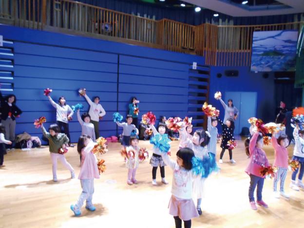 1月12日(土)「あるチア訪問隊★親子チアダンス教室」