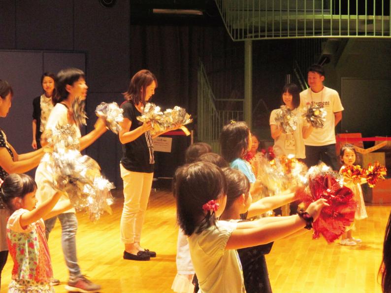 要申込 あるチア訪問隊★親子チアダンス教室