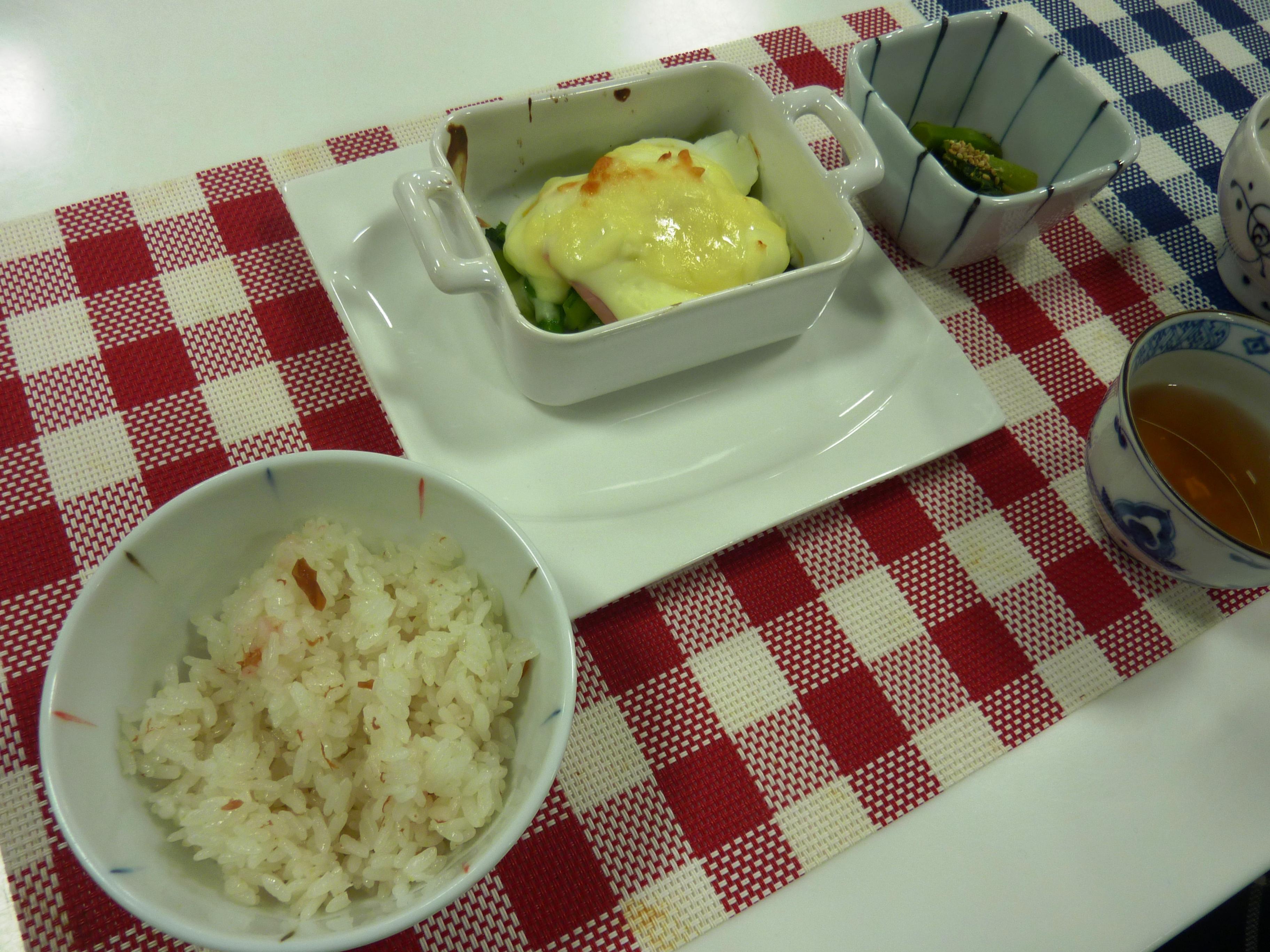 お料理教室「グランマの味」冬菜を使って