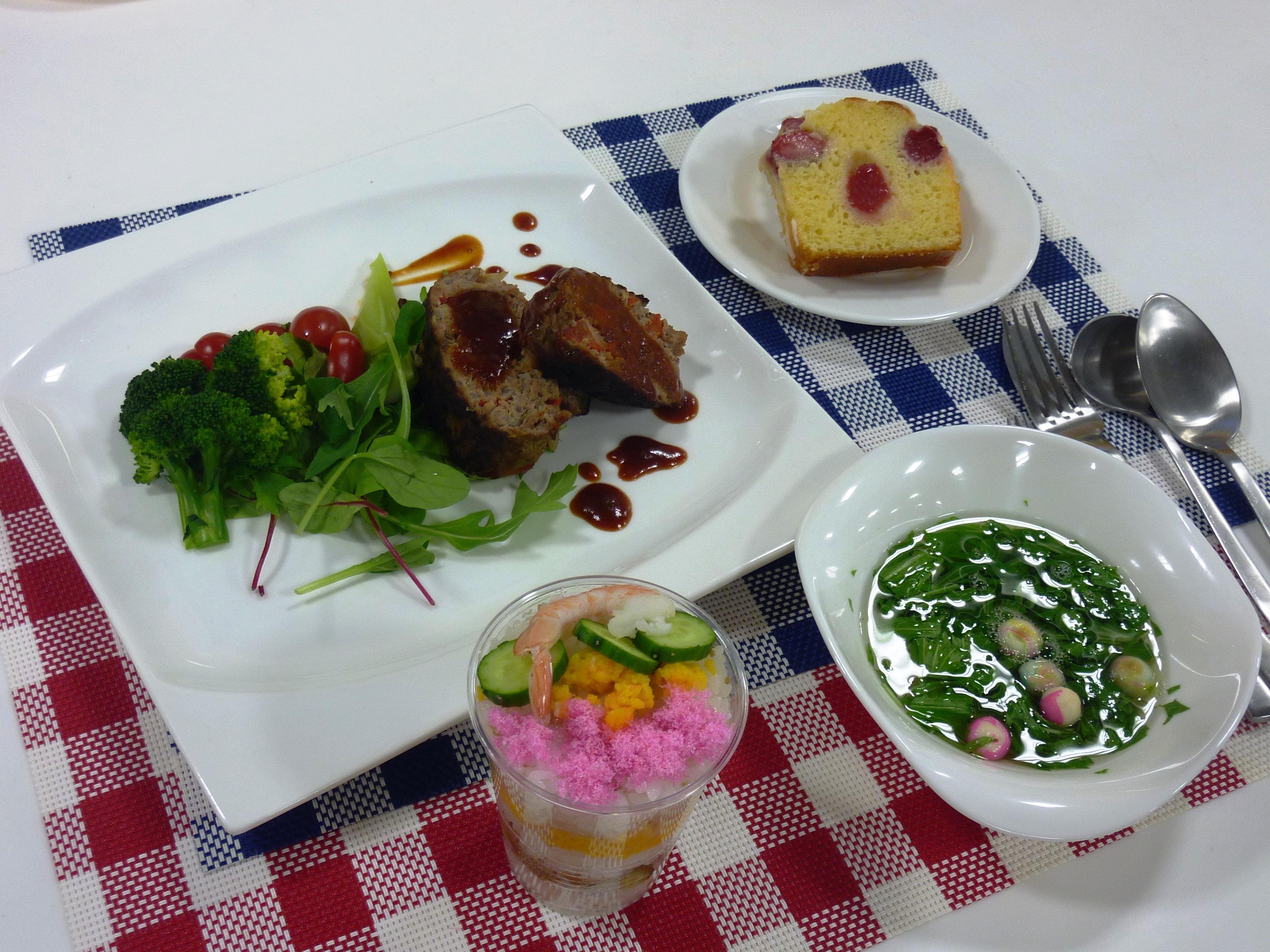 お料理教室「春のお祝いパーティー」