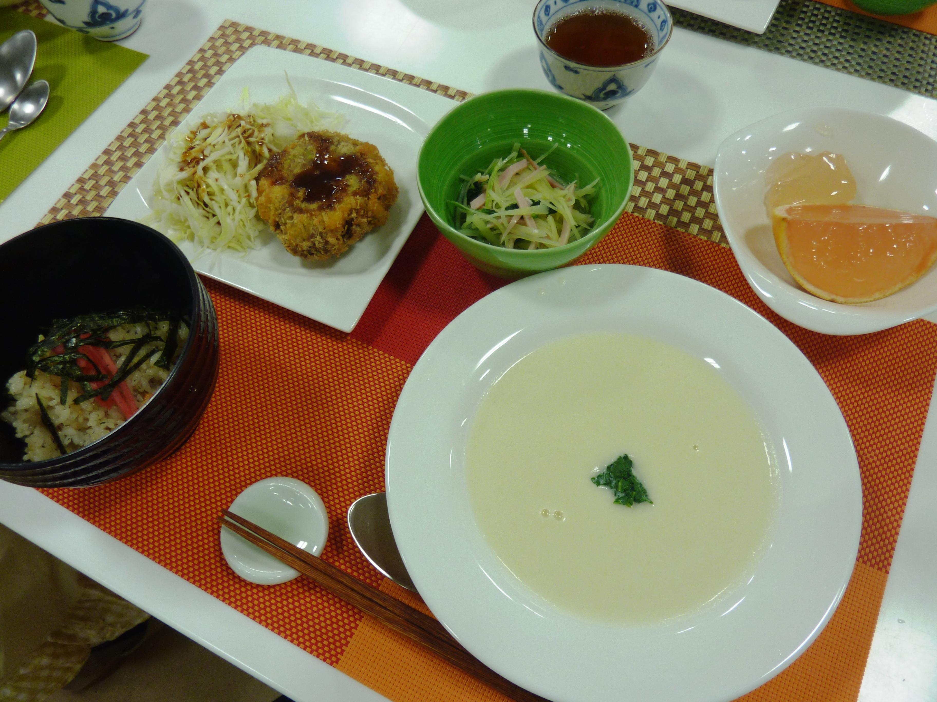お料理教室「片桐先生の初夏を楽しむ家庭料理」