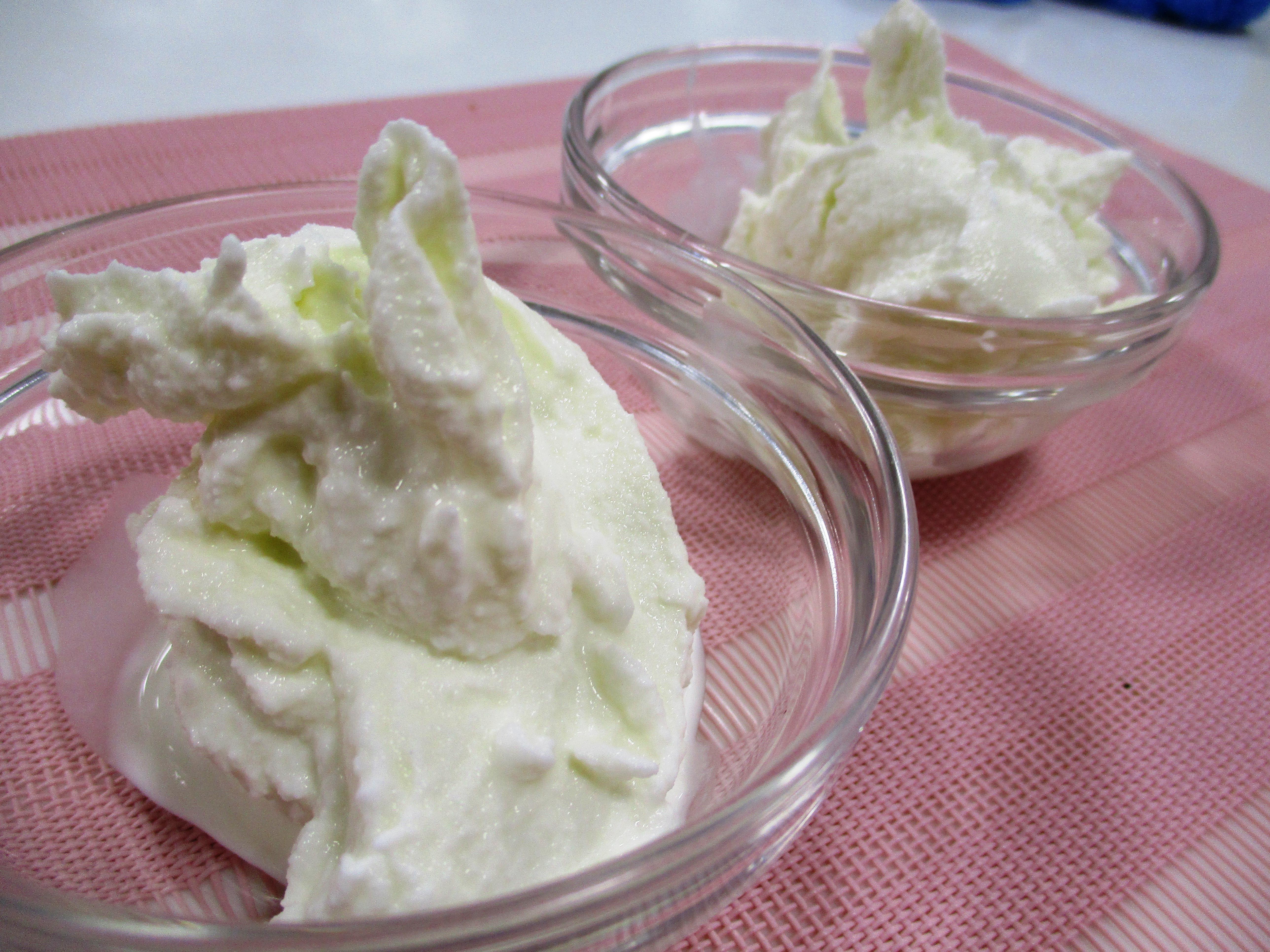 チャレンジ!手づくりアイスクリーム