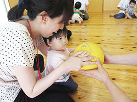 要申込 小さなキッズとママの時間 親子3B体操教室 11月