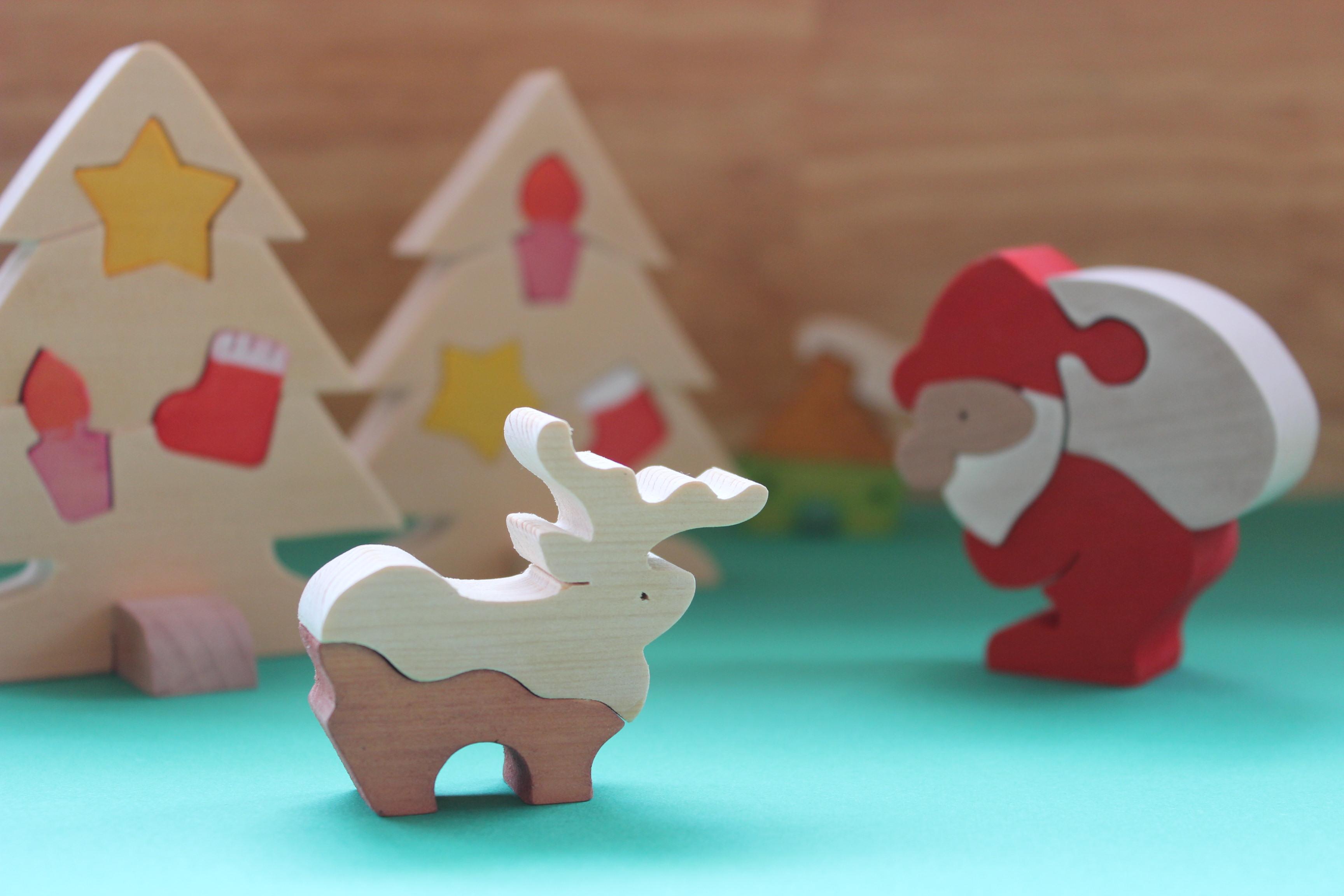 クリスマス親子で作ろう組み木のおもちゃ≪クリスマスフェスタ2019≫