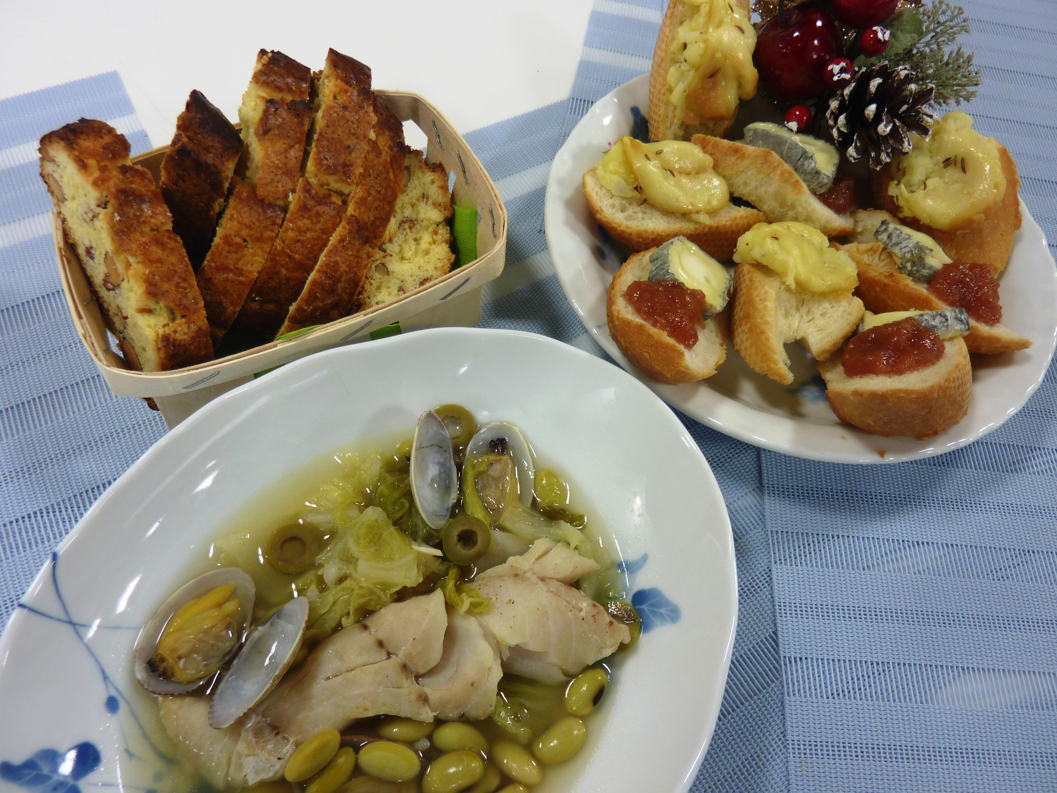 お料理教室「フランス・ナントの町より~冬の家庭料理~」