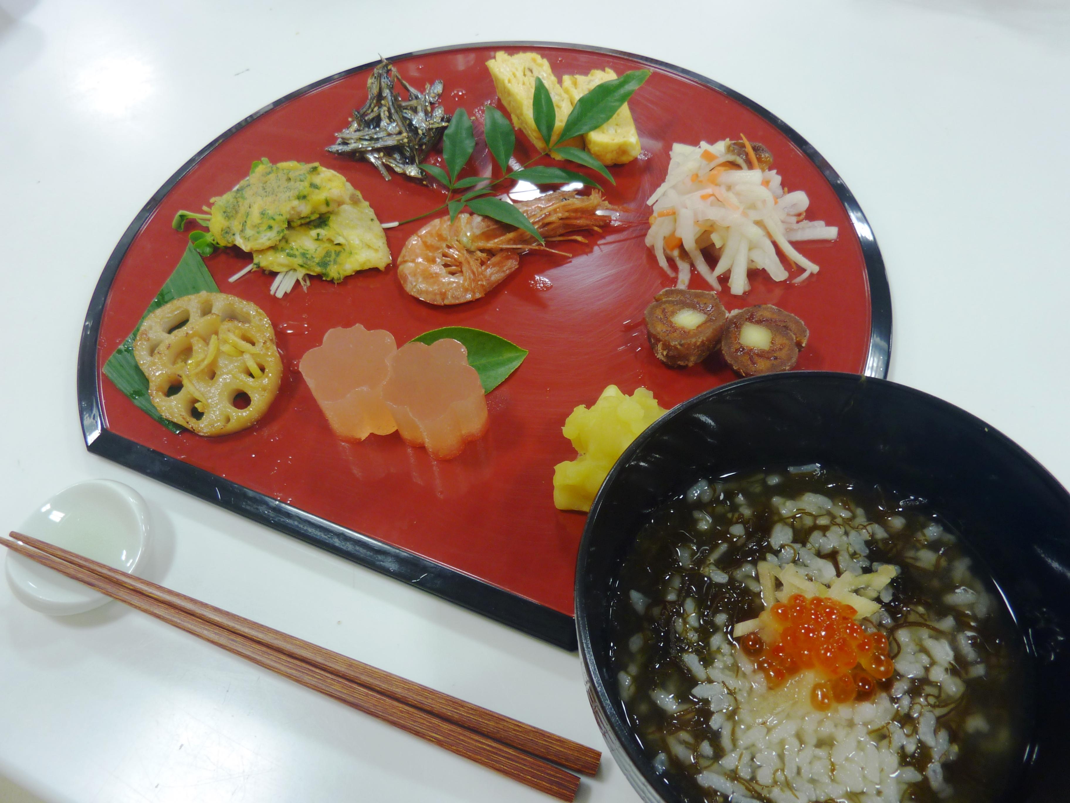 お料理教室「片桐先生のおせち料理」