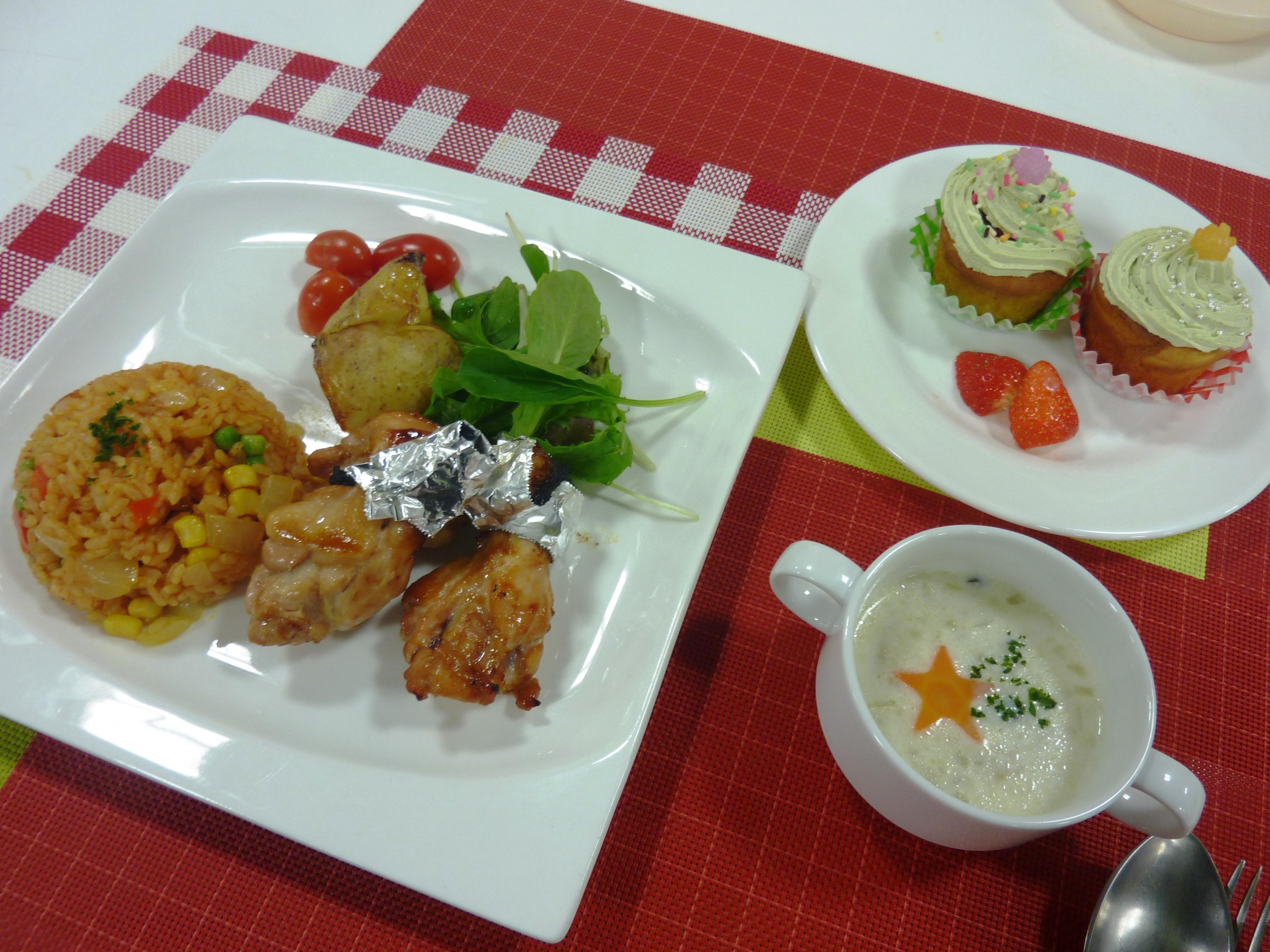 お料理教室「おうちDE Xmasパーティー」