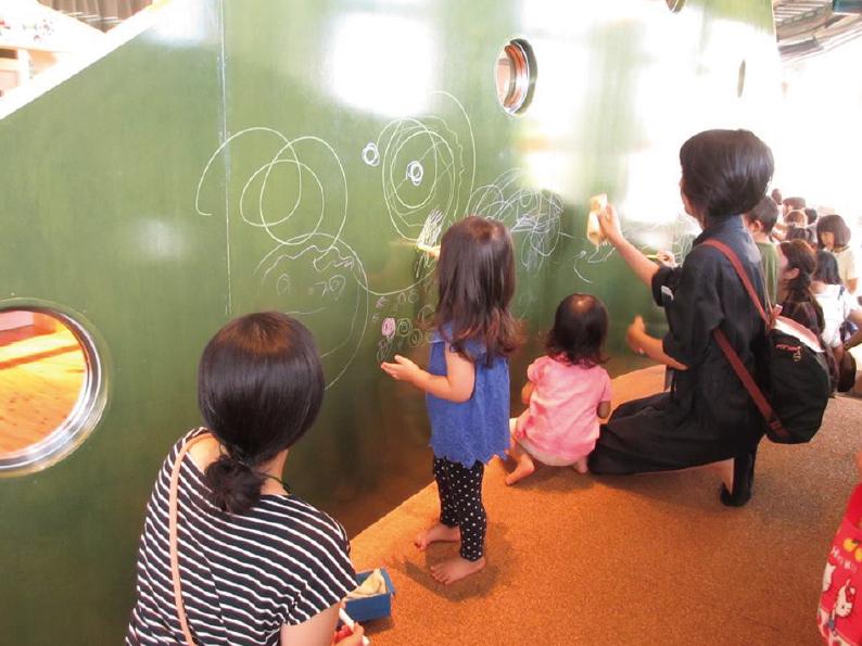 おえかきアート~オイルパステルでおえかき山に描こう~4/26