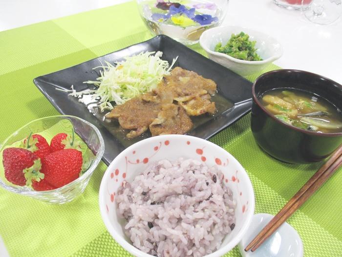 【募集中】お料理教室「春の一汁二菜」