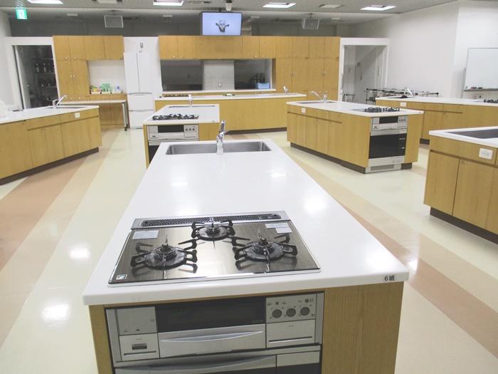 市内最大級の調理実習室