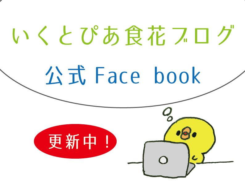 いくとぴあ食花ブログ・Face book
