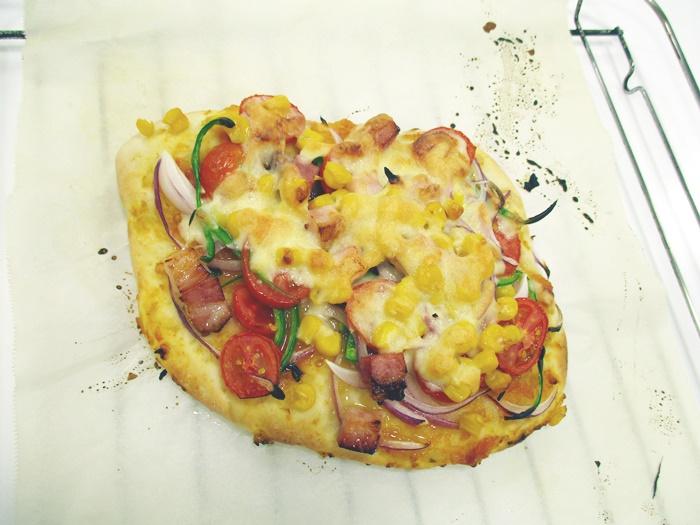 団体プログラム「にいがた県産米粉を使ってピザを作ろう!」