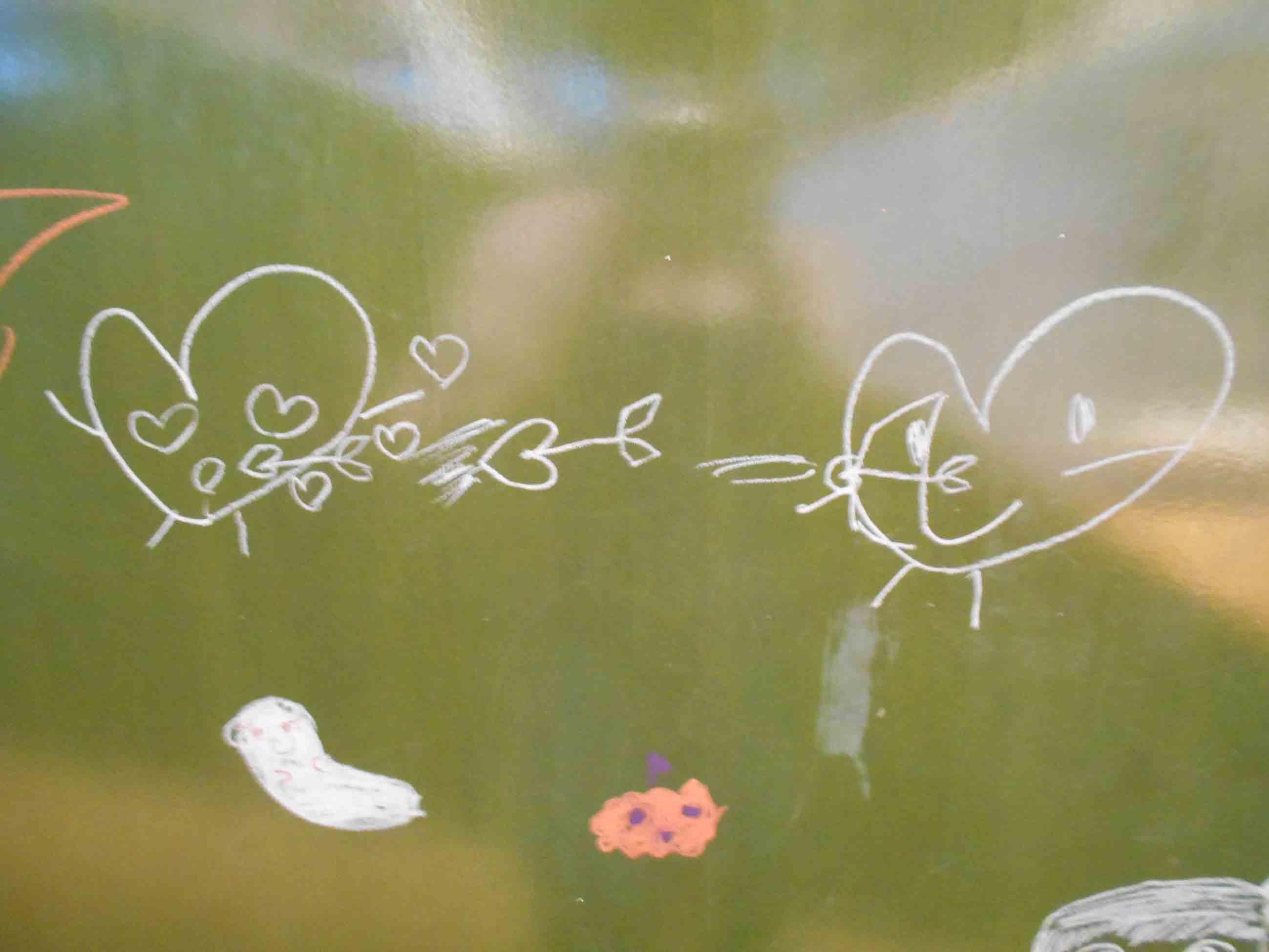 10月のおえかきアート