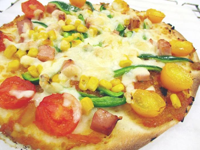 団体プログラム「にいがた産米粉を使ってピザを作ろう!」
