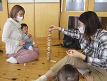 3/17 「はじめての木育~ふれよう!ひろげよう!つみき体験~」