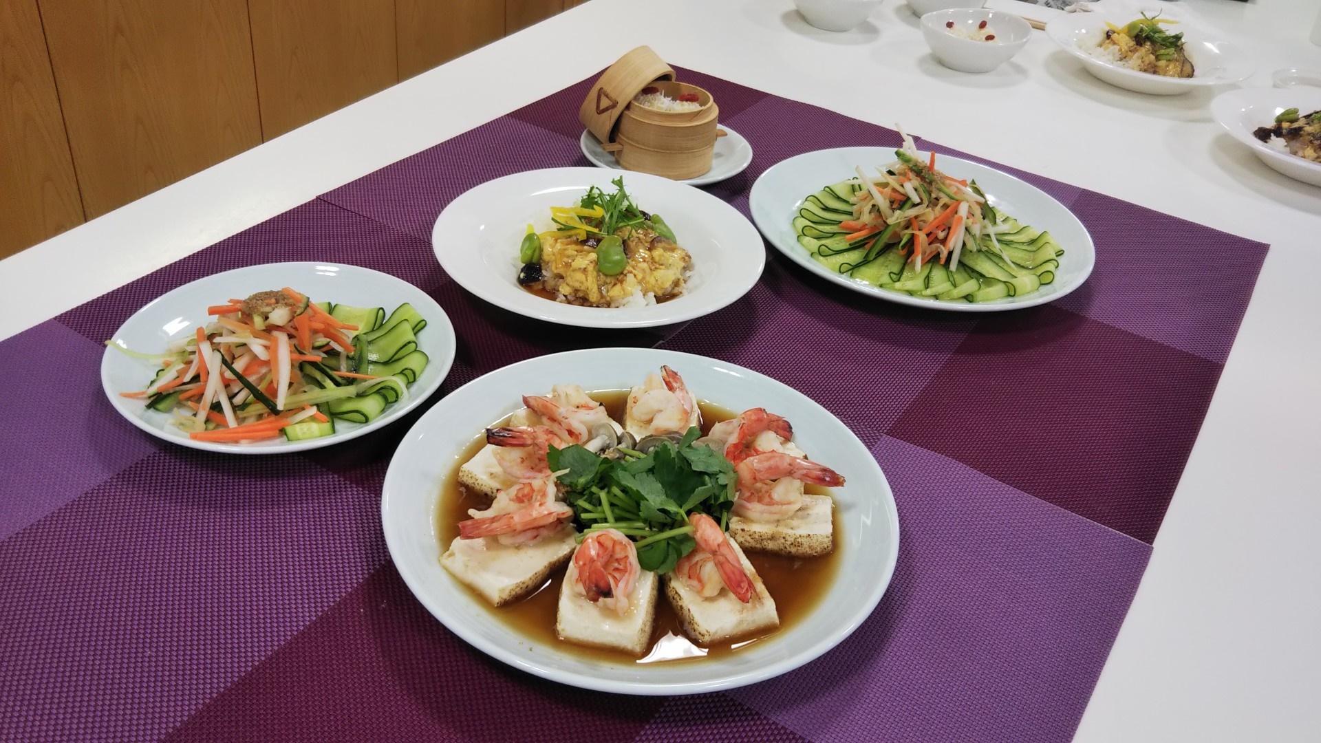お料理教室「記憶力アップの食事 ~中華~」