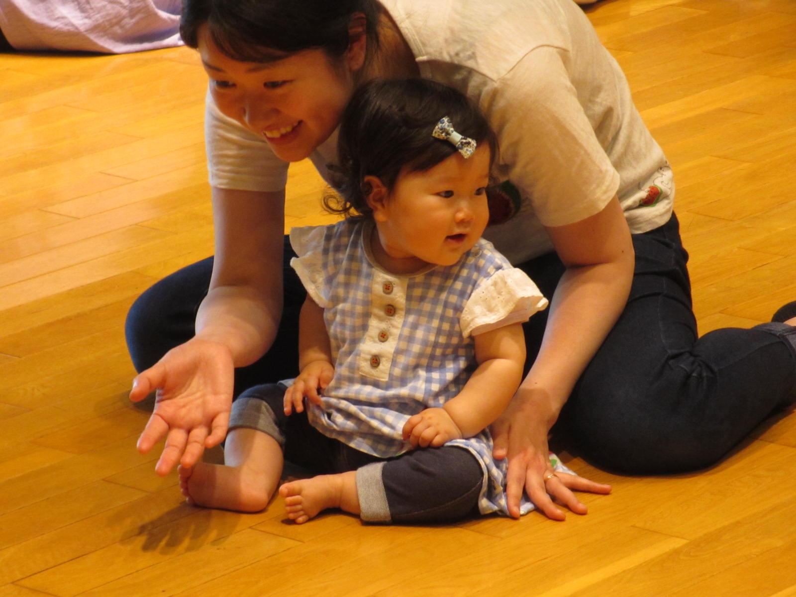 【中止】親子リトミック0歳(9月)